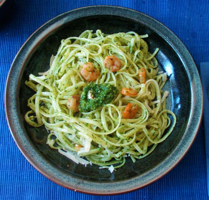 Supperfood,Wildkräuter Pesto,Linguine (1)