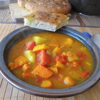 Kürbis-Gemüse Suppe (19)