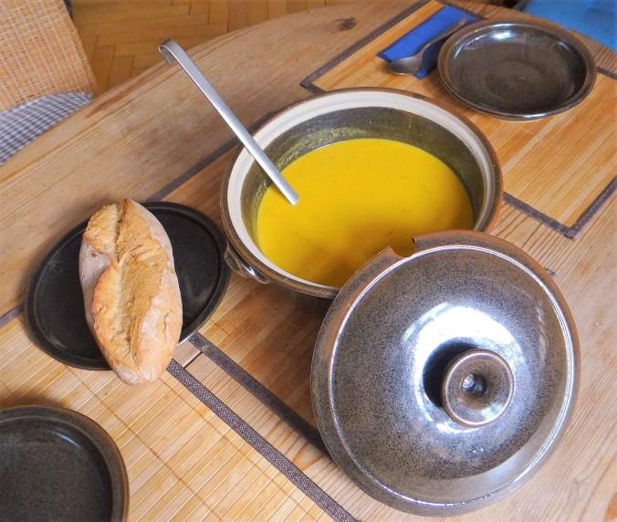 Orientalische Möhrensuppe und Quitten Dessert (8)