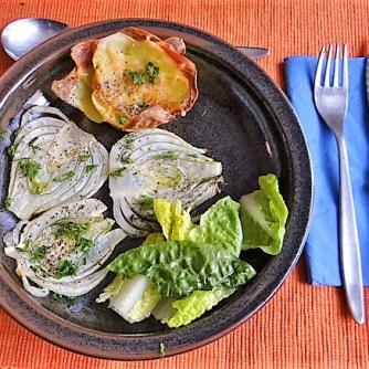 Fenchel und knusprige Kartoffelnester (14)