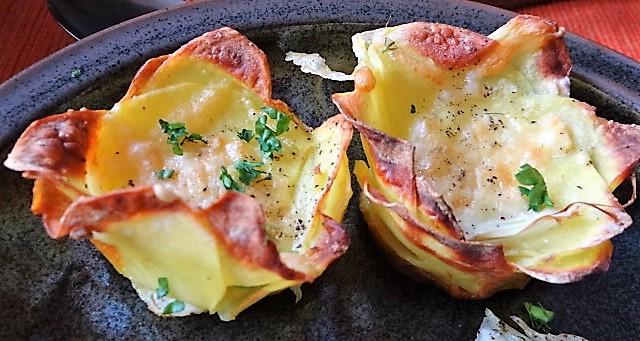 Fenchel und knusprige Kartoffelnester (3)