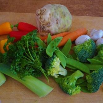 Gemüsesuppe mit Pappardelle (6)