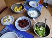Meerrettichquark,Rote Beete,Ei,Salat,Pellkartoffeln (18)
