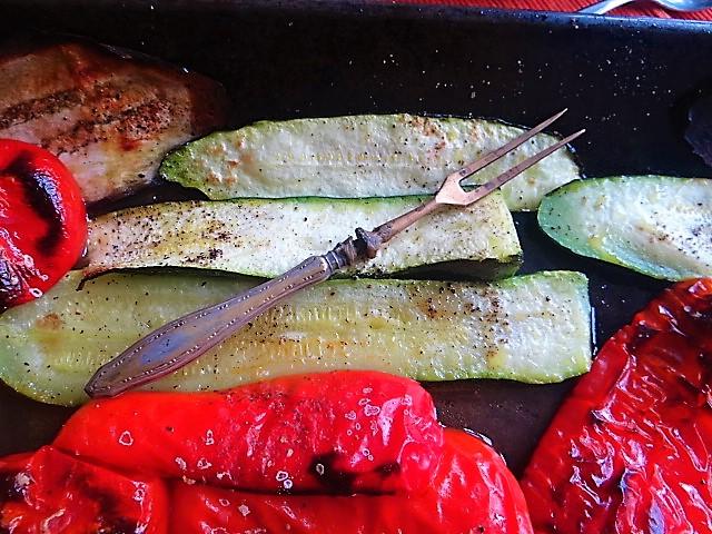 Ofengemüse,geräucherter Lachs,Bärlauch Dip (8)