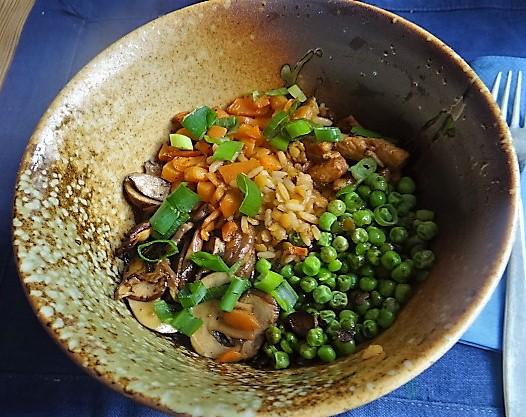 Reis mit Gemüse und Putenfleisch (20)