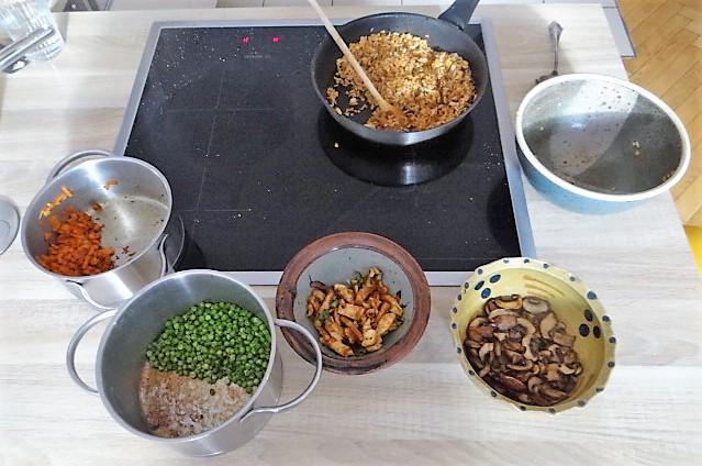 Reis mit Gemüse und Putenfleisch (4)