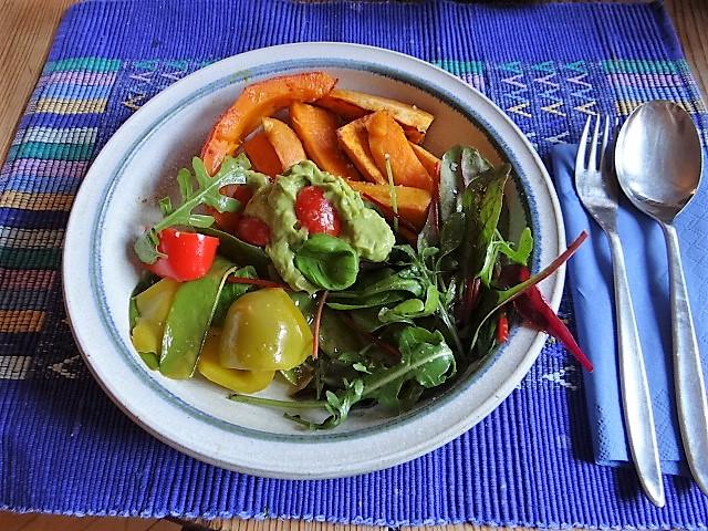 Süßkartoffeln,Kürbis,Guacamole (19)