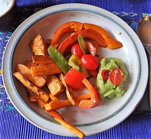 Süßkartoffeln,Kürbis,Guacamole (20)