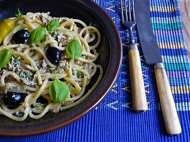 Spaghetti al tonno (2)