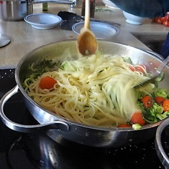 Zucchini Zoodles,Champignon,Tomaten (13)