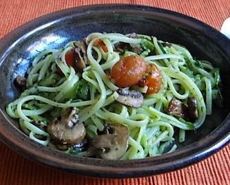 Zucchini Zoodles,Champignon,Tomaten (17)