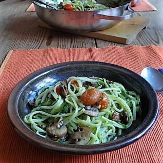 Zucchini Zoodles,Champignon,Tomaten (18)