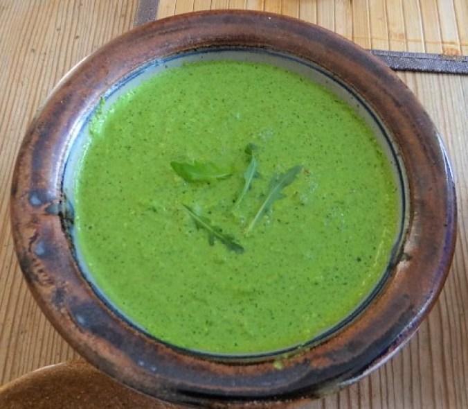 Bohnen Thunfisch Salat mit Rucola Pesto und Ei (8)