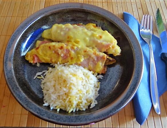 Chocoree in Schinken und Reis (2)