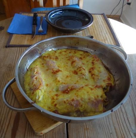 Chocoree in Schinken und Reis (4)