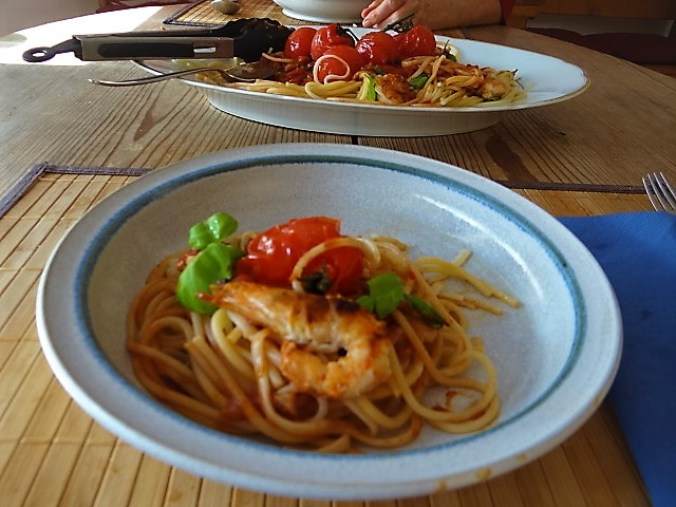 Garnelen mit Tomaten (2)