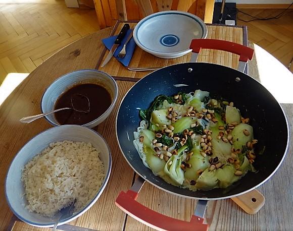 Pak Choy mit Miso Sauce (15)