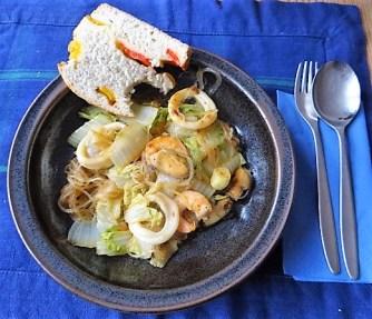Spitzkohl mit Meeresfrüchten (14)