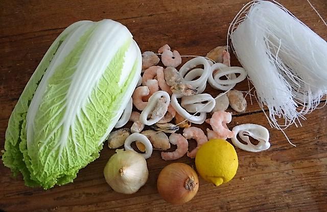 Spitzkohl mit Meeresfrüchten (4)