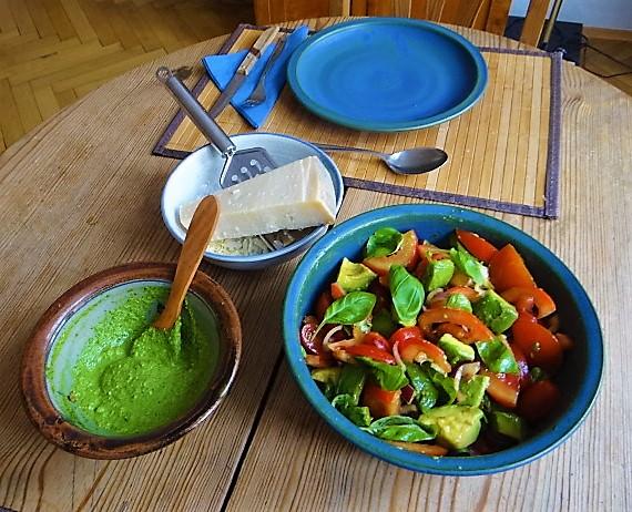 Tomaten Avocado Salat mit (9)