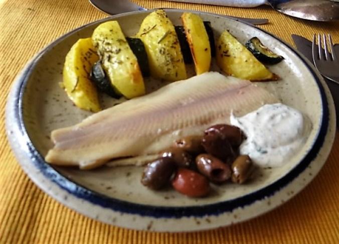 Ofen-Kartoffel-Zucchini,geräucherte Forelle (15)