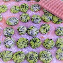 Bärlauch Gnocchis,Pilze (10)