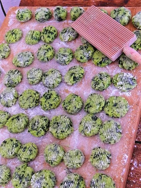 Bärlauch Gnocchis,Pilze (8)