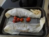 Forelle mit kalter Dillsauce und Feldsalat (14)