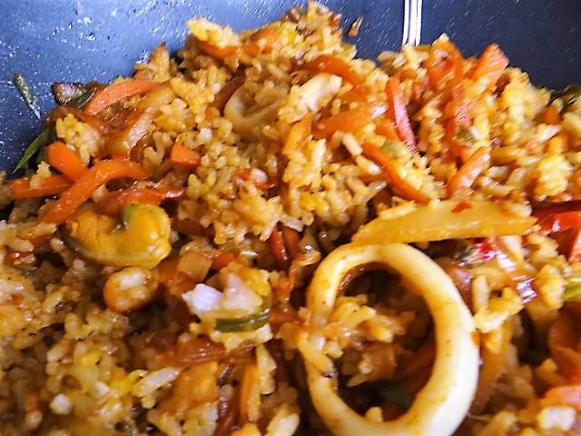 Nasi Goreng mit Meeresfrüchten,Dessert (8)