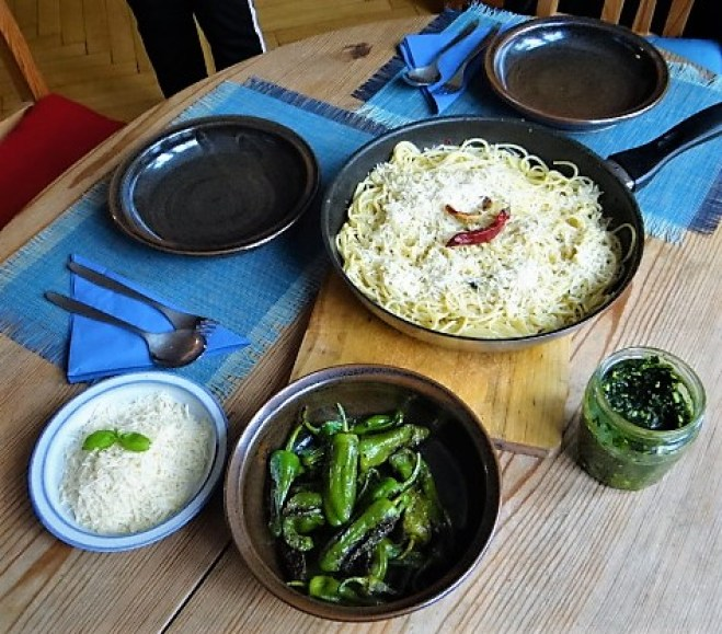 Spaghetti mit Knoblauch (5)