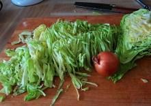 Krautsalat,Tzatziki,Kartoffelspalten,Hackbällchen (9)