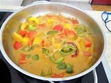 Paprika in Kokosmilch und Gewürzreis (10)