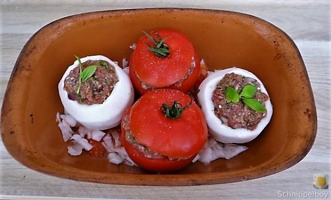 Gefüllte Mairübchen und Tomaten mit Polenta (13)