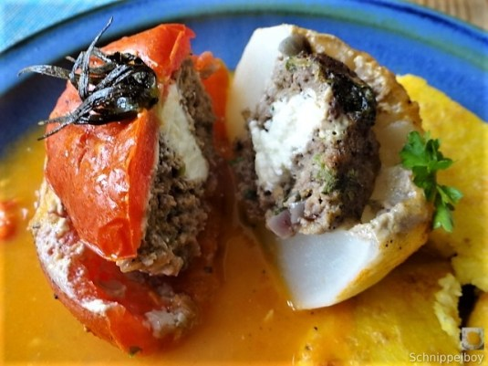 Gefüllte Mairübchen und Tomaten mit Polenta (22)