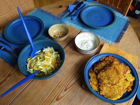 Kartoffel-Möhren Pupper mit Quark Dip und Fenchelsalat (4).JPG