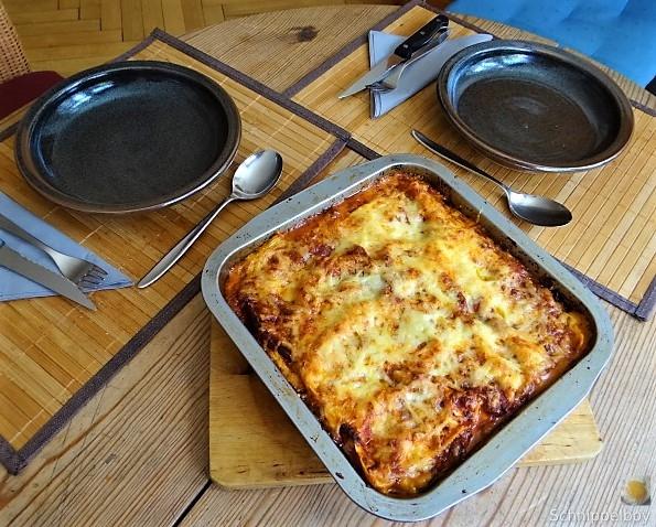 Nudel-Zucchini Lasagne (5)