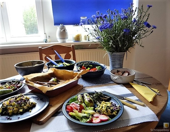 Gemüse,Salat und Ei (25)