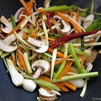 Mungbohnenkeimlinge mit Gemüse,Reis (10)