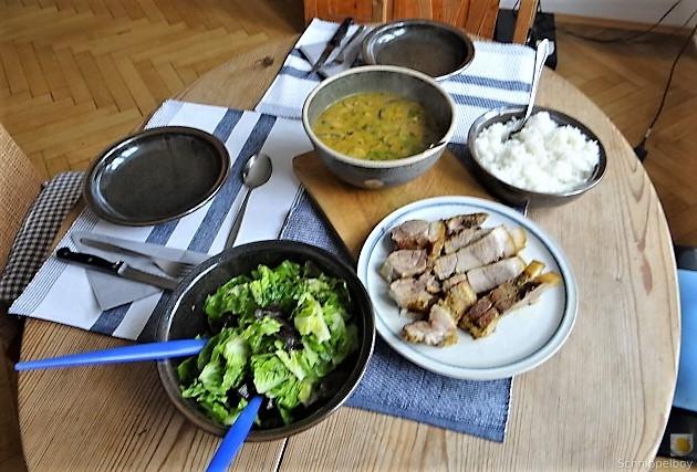 Sherryfleich,Reis,Salat (14)