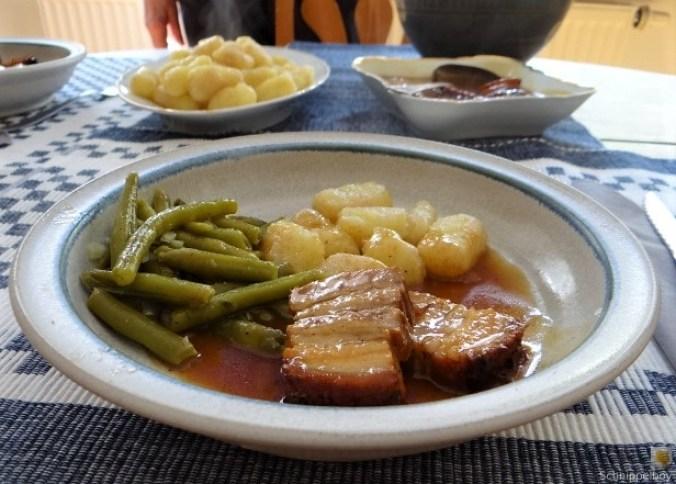 Bauchfleisch,Gnocchis,Bohnensalat (23)