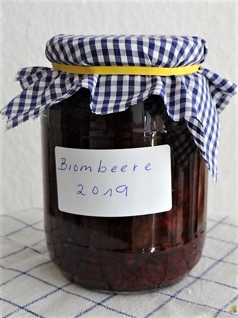 Brombeer Marmelade und Kompott (7)