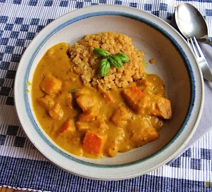 Kürbis Curry - Calabaza al curry (17)