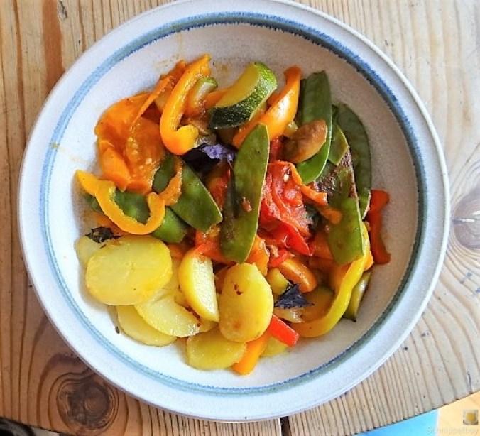 Leerung des Gemüsefachs (1)