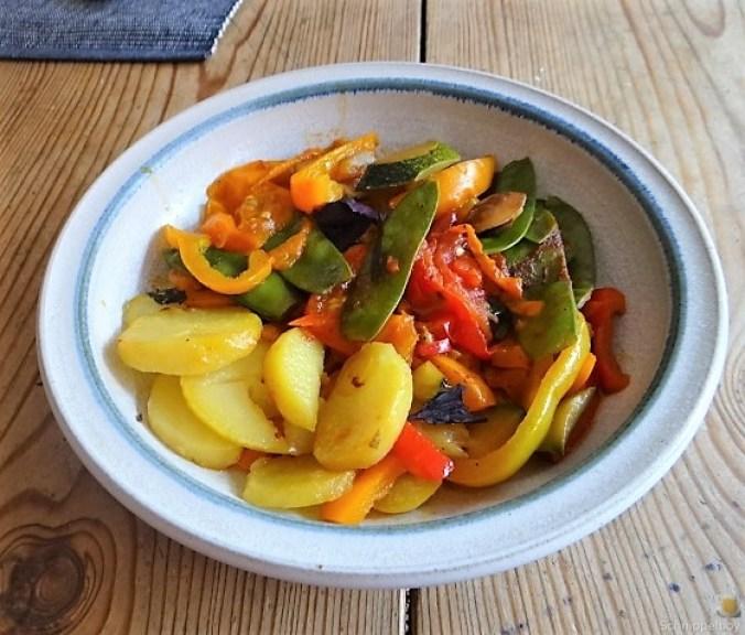 Leerung des Gemüsefachs (2)