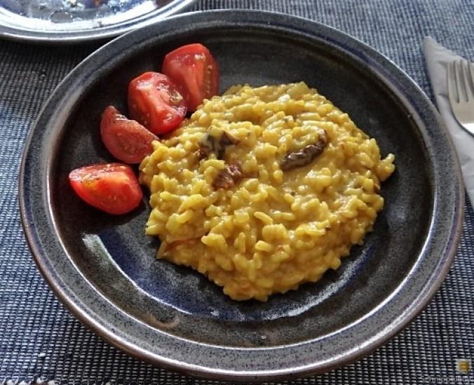 Safran-Tomaten Risotto (12)