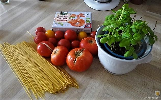Tomaten, Meeresfrüchte, Spaghetti, Trauben (6).JPG