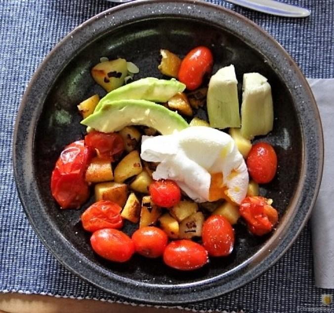 Gemüse Kartoffel und Ei (10)