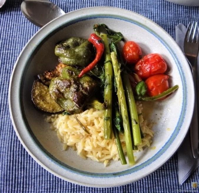 Knoblauchgrün,Gemüse,Kritharaki (1)