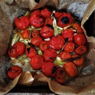 Linguine,geschmorte Tomaten,Miesmuscheln (11)