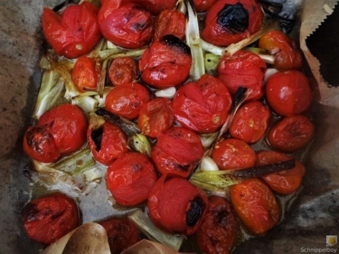 Linguine,geschmorte Tomaten,Miesmuscheln (12)